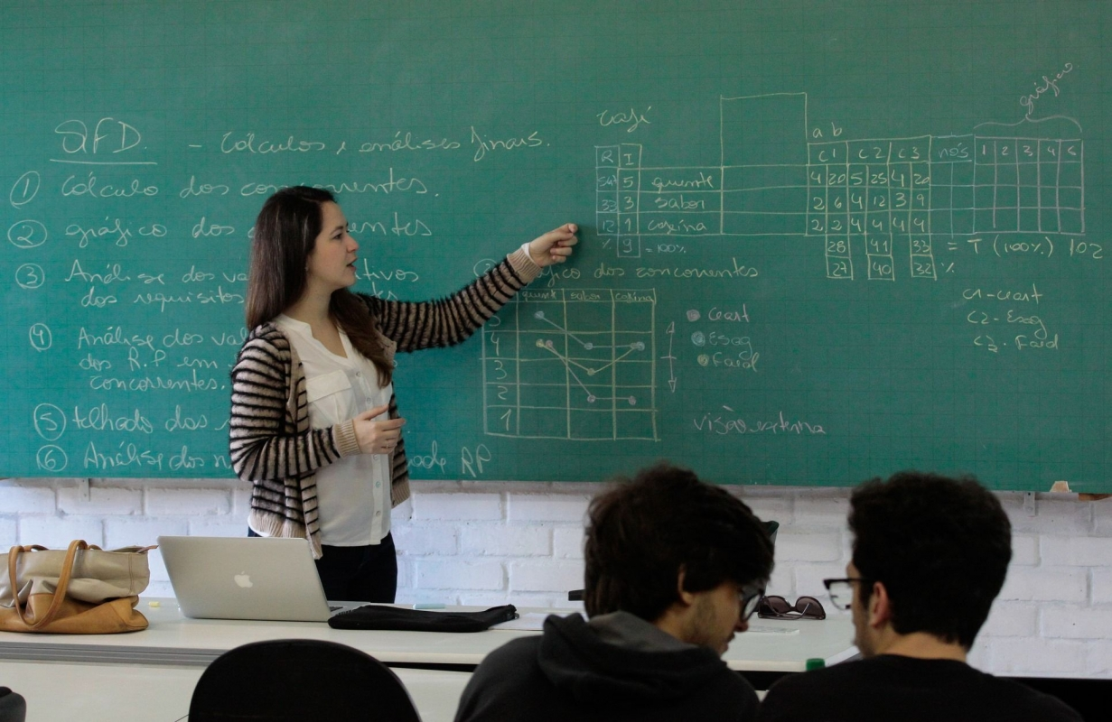 ed2f061e05ac Professores ganham 25% menos que profissionais de outras áreas